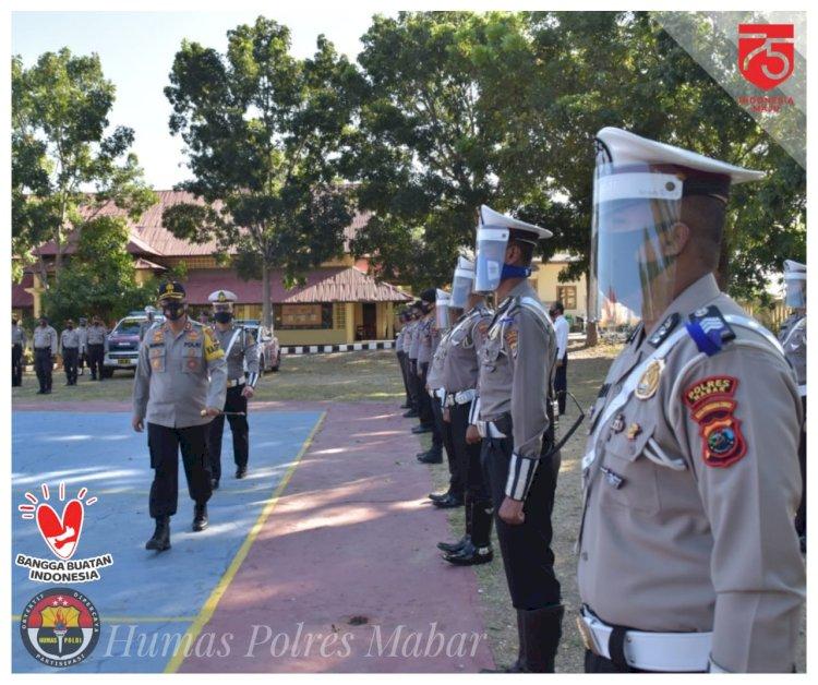 Polres Manggarai Barat Gelar Pasukan Operasi Patuh Turangga 2020