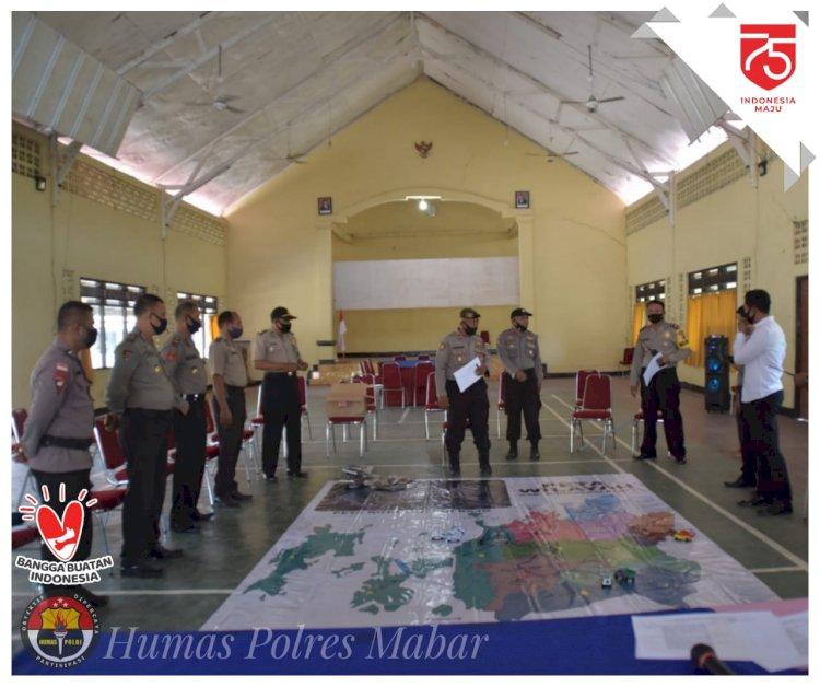 Mantapkan Pengamanan Pilkada Serentak 2020, Polres Mabar Gelar TFG