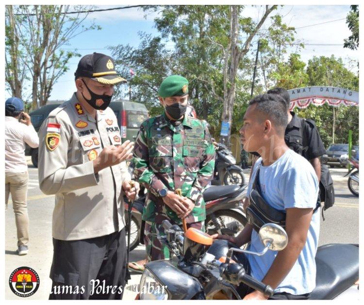 Tim Gabungan TNI-Polri Gelar Sosialisasi dan Operasi Yustisia di Labuan Bajo