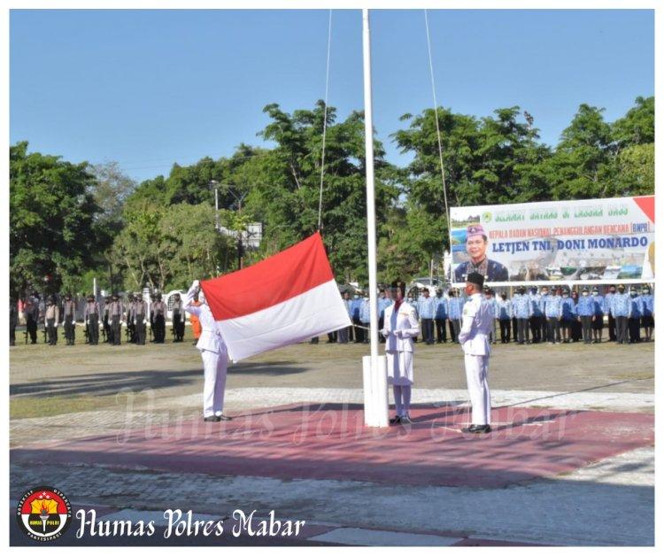 Wakapolres Manggarai Barat Hadiri Upacara Peringatan Hari Pahlawan Nasional Ke 75