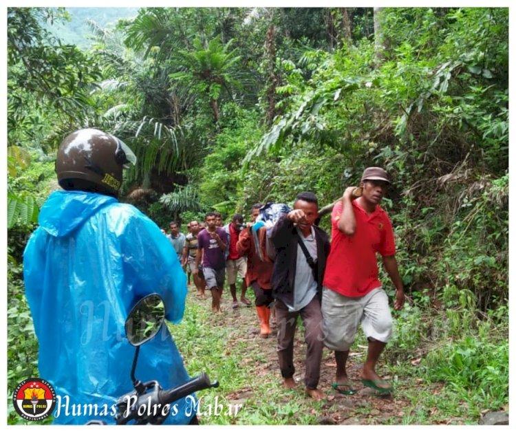DN Ditemukan Tak Bernyawa di Hutan Mbeliling
