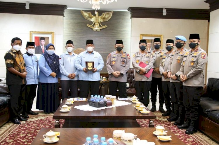 Kapolri Listyo Sigit Ajak Pemuda Masjid Lawan Radikalisme dan Intoleransi