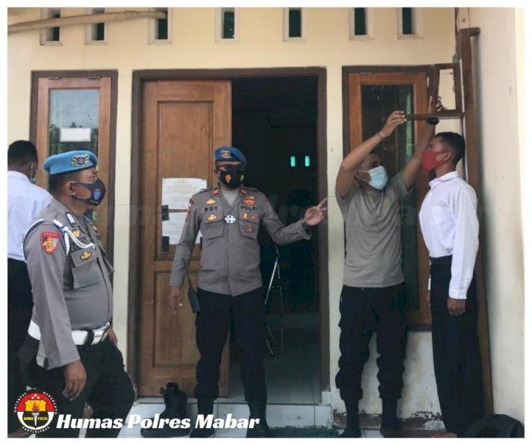 Sie Propam Awasi Penerimaan Calon Anggota Polri di Polres Manggarai Barat
