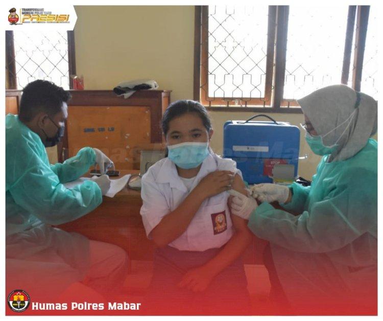 Target 100% Vaksinasi, Gerai Vaksin Presisi Polres Manggarai Barat Kini