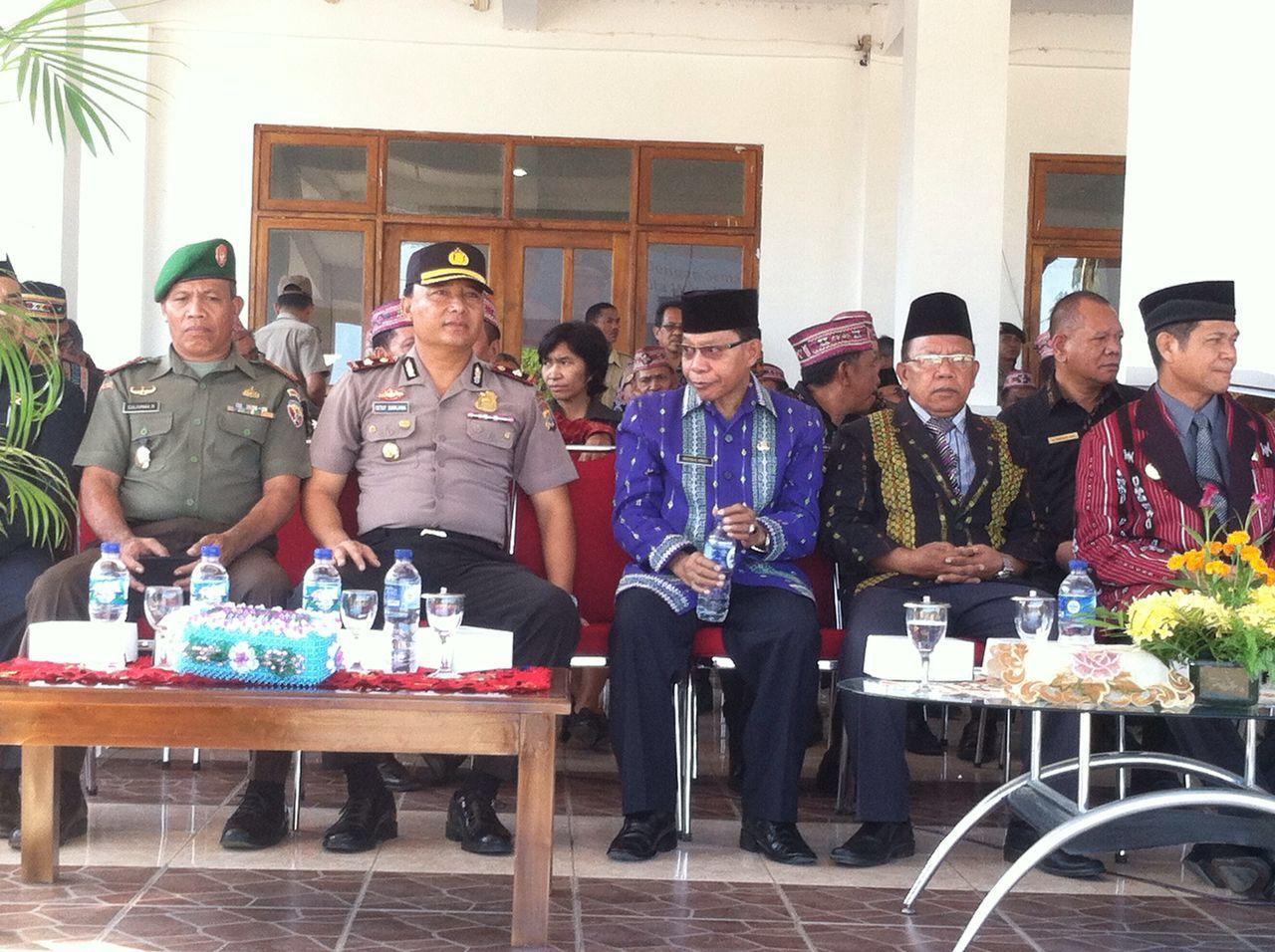 Waka Polres Manggarai Barat Hadiri Upacara Hardiknas Tingkat Kabupaten