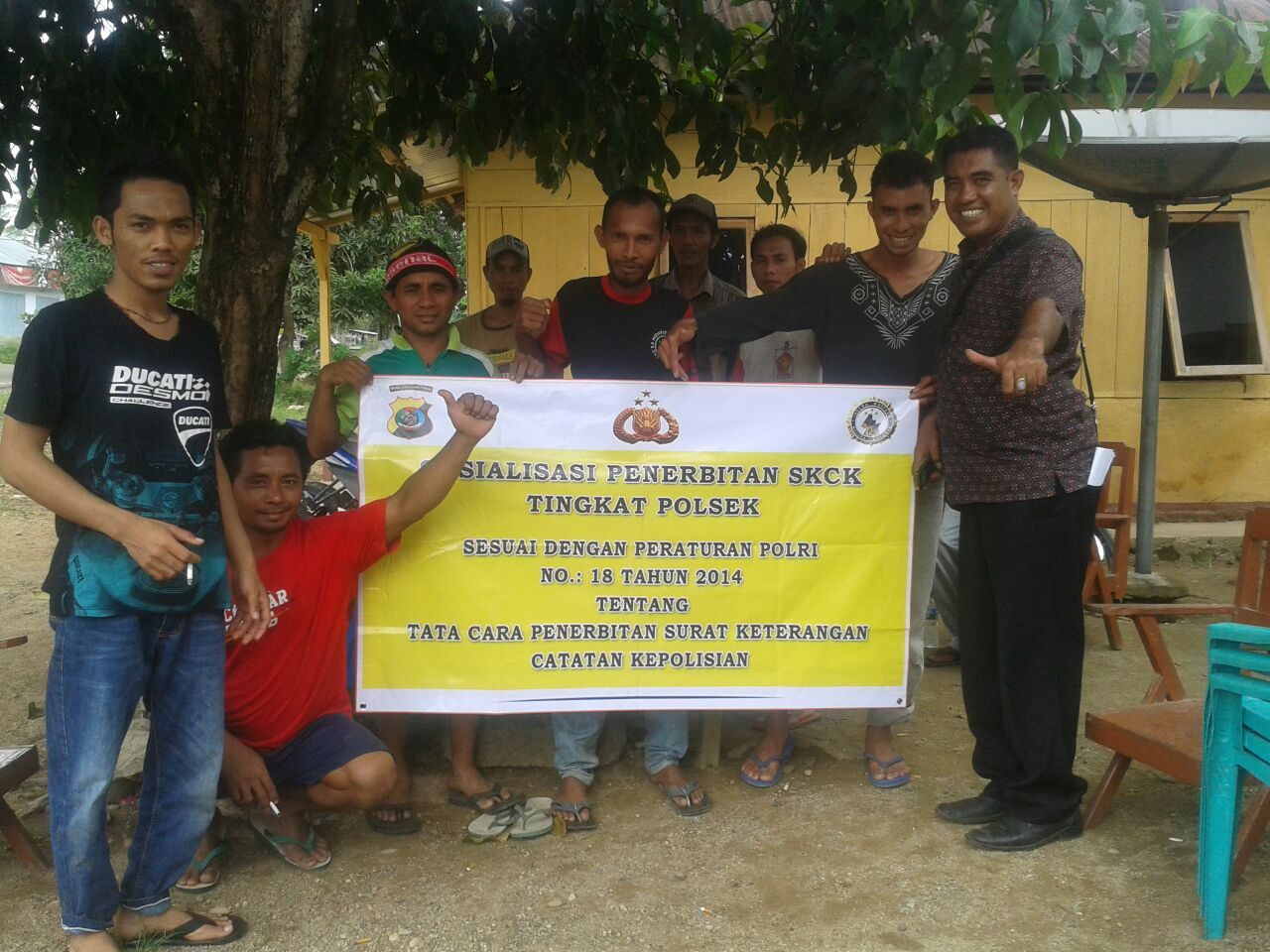Kepolisan Sektor Komodo Sosialisasi Pelayanan Penerbitan SKCK