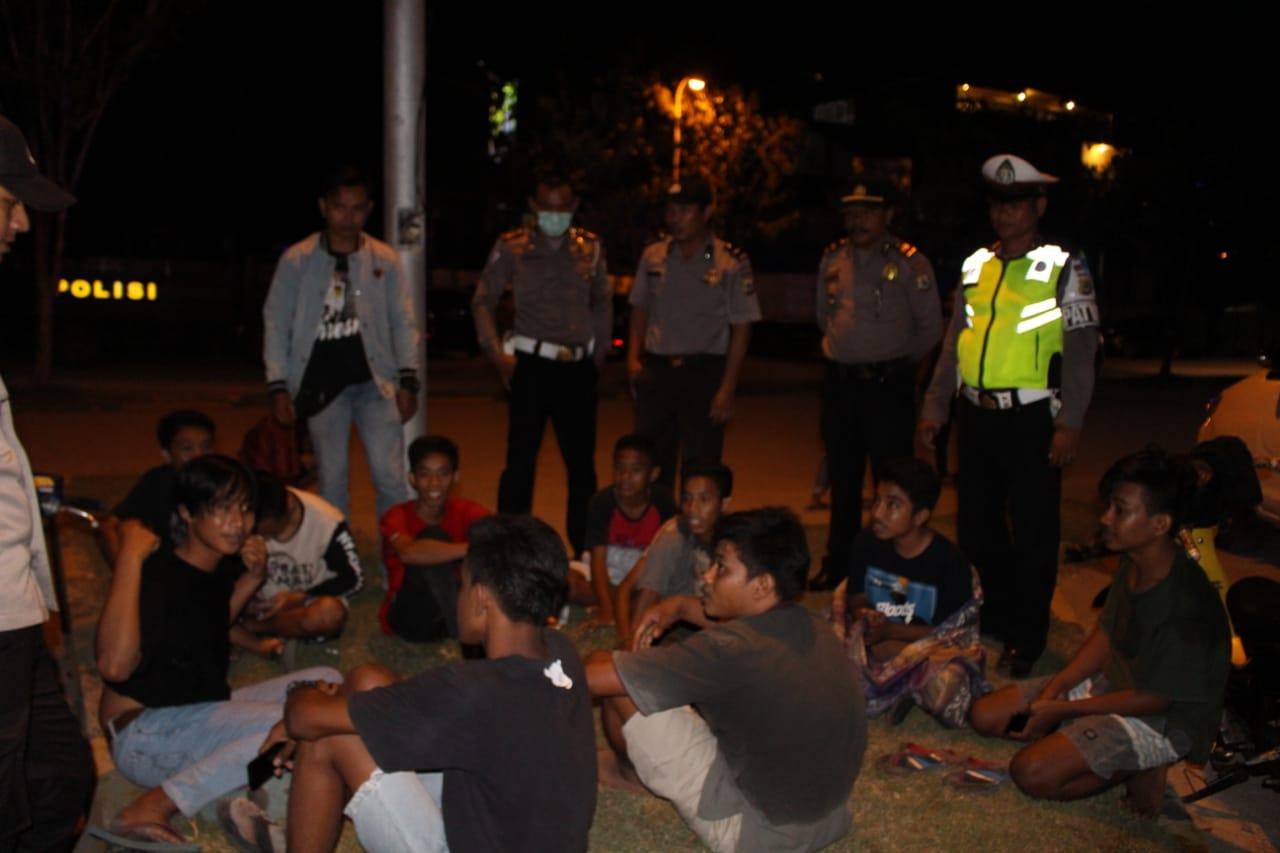 Polres Mabar Gelar Patroli Rutin, Tekan Kenakalan Remaja di Bulan Ramadhan