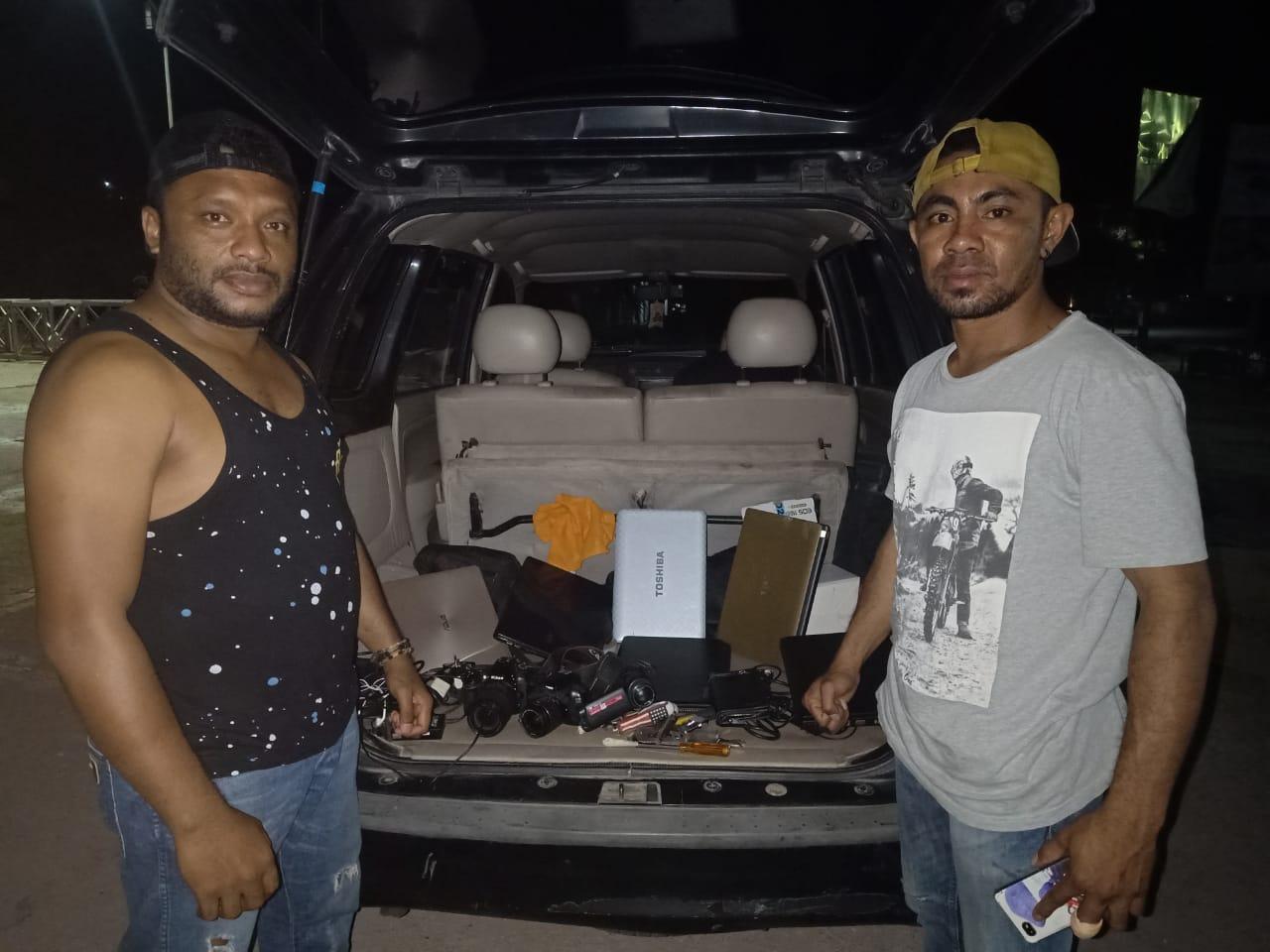 Polres Mabar Ciduk Terduga Pelaku Pencurian Spesialis Perkantoran