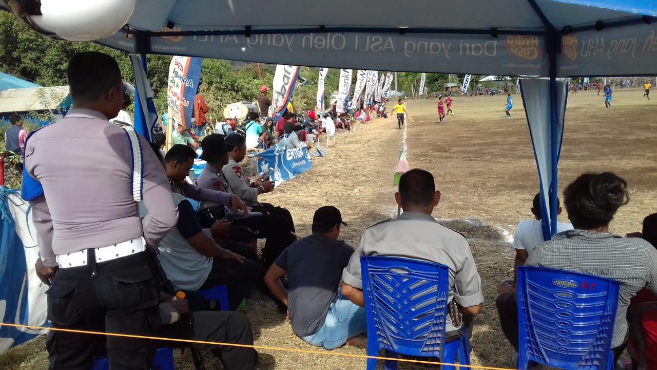 Hari Ke-13 Batu Cermin Cup 2019, Polres Mabar Setia Jaga Keamanan